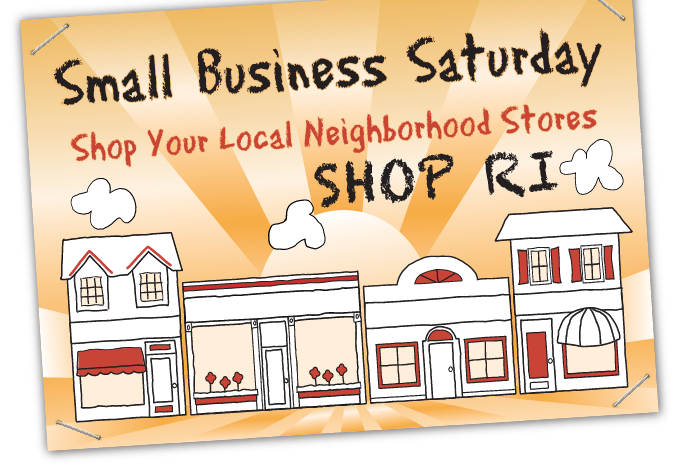 Small Business Saturday Shop RI